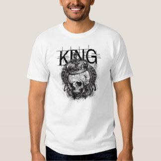 cráneo del rey playera