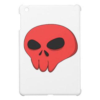 cráneo del rojo del dibujo animado