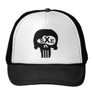 cráneo del sXe Gorras De Camionero
