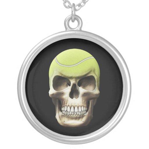 Cráneo del tenis colgante personalizado