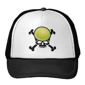 Cráneo del tenis gorras