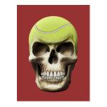 Cráneo del tenis postal