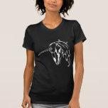 Cráneo del unicornio camisetas