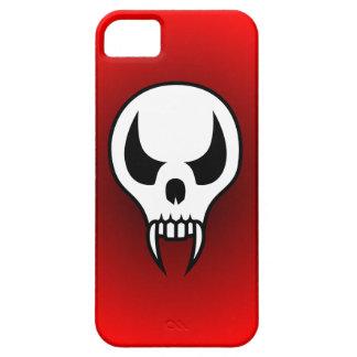 Cráneo del vampiro del dibujo animado iPhone 5 funda