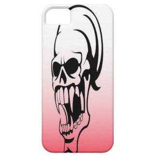 Cráneo del vampiro iPhone 5 carcasas