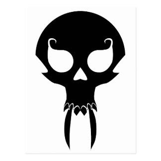 Cráneo del vampiro postal