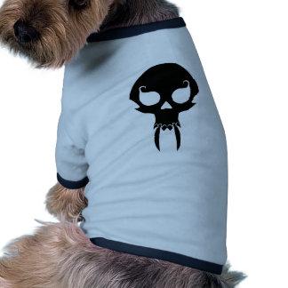 Cráneo del vampiro ropa de perro