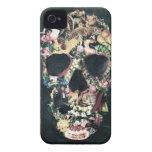 Cráneo del vintage Case-Mate iPhone 4 protector