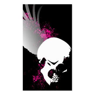 cráneo del vuelo tarjetas de visita