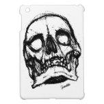 Cráneo del zombi que dibuja 2 iPad mini cobertura