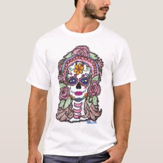 """Cráneo """"día del azúcar del Sharpie"""" de la camisa"""