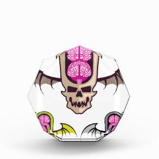 Cráneo doble del cerebro