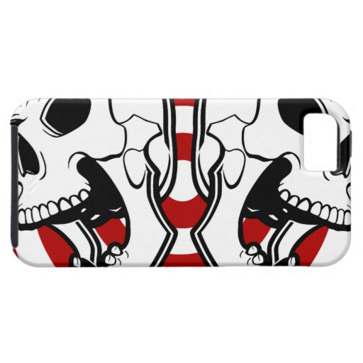 Cráneo doble iPhone 5 funda