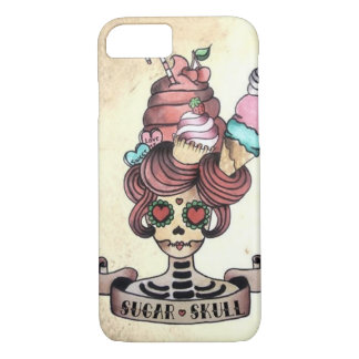 Cráneo dulce azucarado funda iPhone 7