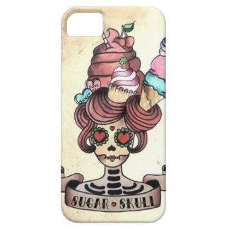 Cráneo dulce azucarado iPhone 5 funda