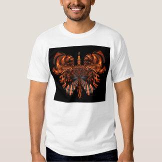 cráneo en la mariposa #04 camisas