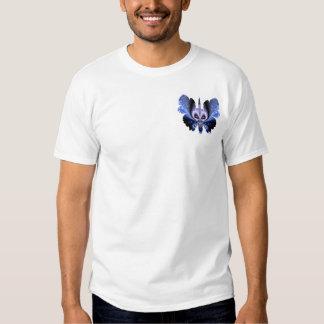 cráneo en la mariposa #10 camisas