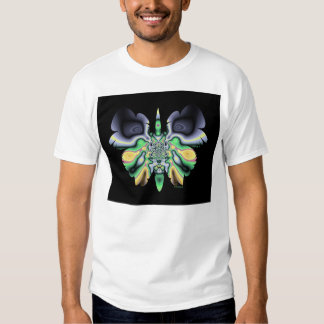 cráneo en la mariposa F08 Poleras