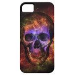 Cráneo en la nebulosa de cangrejo iPhone 5 Case-Mate cárcasas
