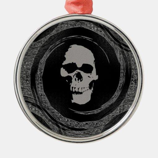 Cráneo en un vacío ornamente de reyes