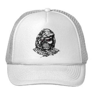 Cráneo encapuchado gorra