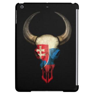 Cráneo eslovaco de Bull de la bandera