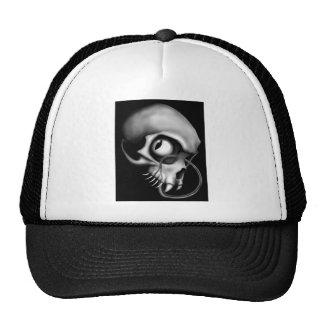 Cráneo espeluznante gorra