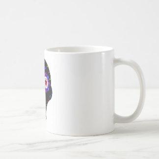 cráneo extranjero del caramelo tazas de café