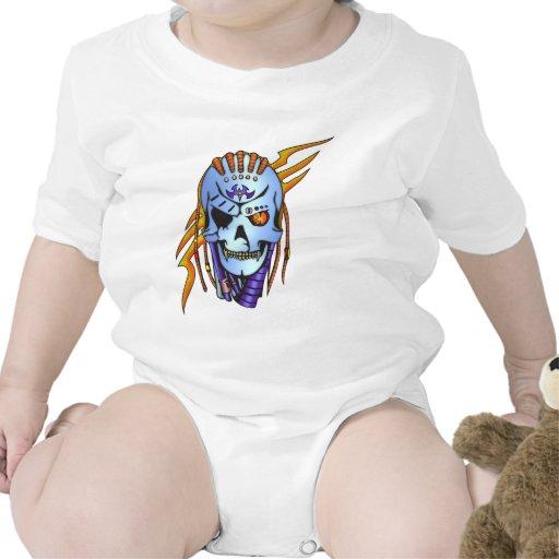 Cráneo extranjero del Cyborg Traje De Bebé