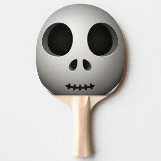 Cráneo fantasmagórico pala de tenis de mesa