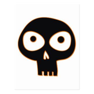 Cráneo fantasmagórico tarjetas postales