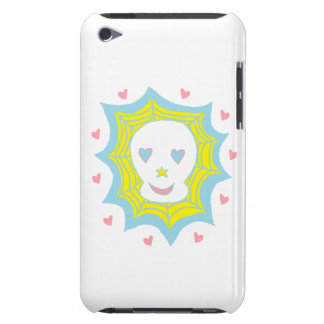 Cráneo feliz del amor iPod touch Case-Mate cobertura