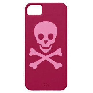 Cráneo feliz iPhone 5 carcasas