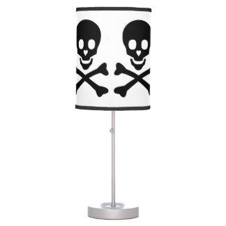 Cráneo feliz lámpara de mesa