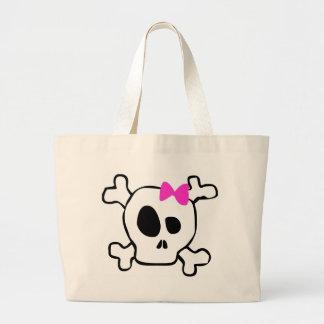 Cráneo femenino bolsa