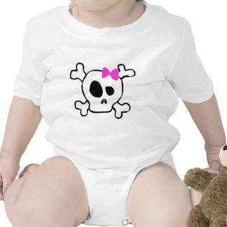 Cráneo femenino trajes de bebé