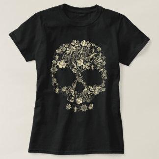 Cráneo floral camisas