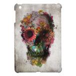 Cráneo floral iPad mini cárcasa