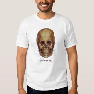 Cráneo Frac de Leonardo da Vinci Playeras