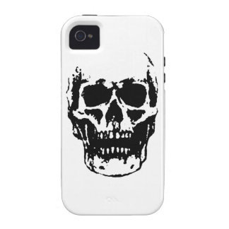 Cráneo iPhone 4/4S Carcasas