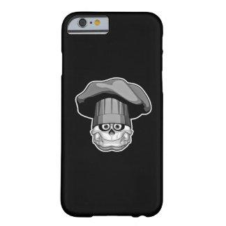 Cráneo gordo del cocinero funda de iPhone 6 barely there