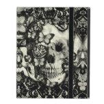 Cráneo gótico del cordón del Victorian iPad Carcasas