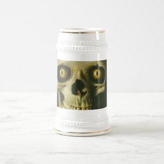 Cráneo gótico Stein del diablo Jarra De Cerveza