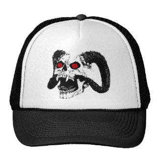 Cráneo gráfico gorras de camionero