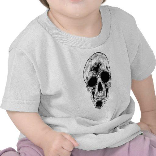 Cráneo gris II Camisetas