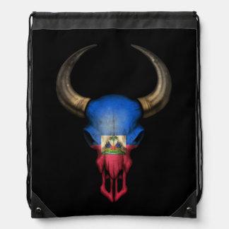 Cráneo haitiano de Bull de la bandera Mochilas