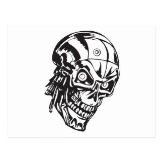 Cráneo humano 146 postales