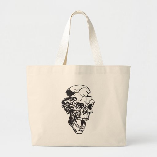 Cráneo humano 147 bolsas de mano