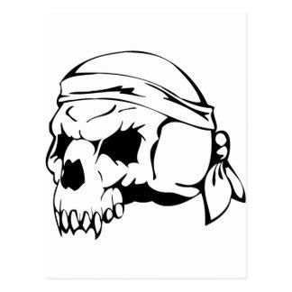 Cráneo humano 152 tarjeta postal
