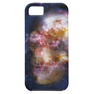 Cráneo humano en las estrellas iPhone 5 Case-Mate fundas